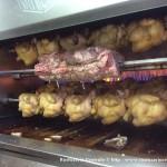 Carrè di maiale allo spiedo