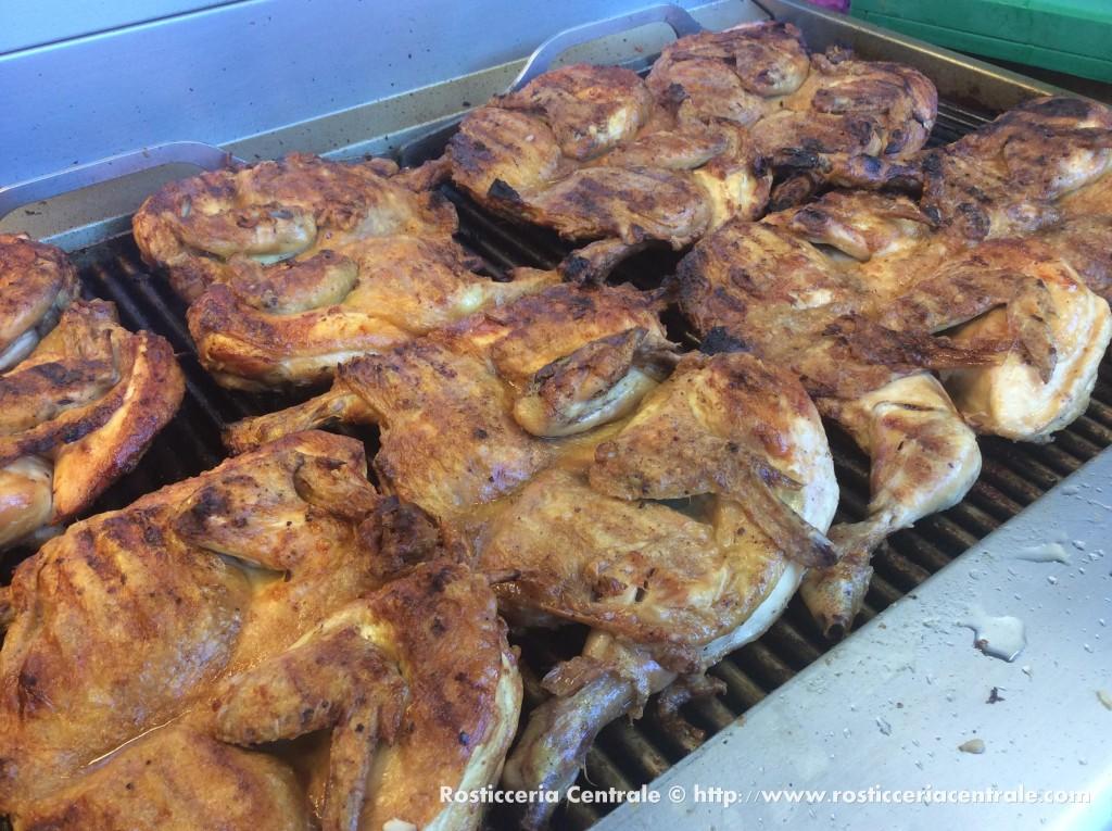 Pollo ai ferri