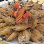 Sardine impanate
