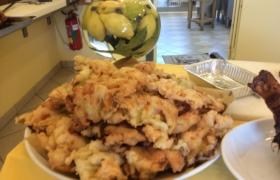 Fiori di zucca in pastella