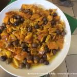 Peperoni, olive e capperi