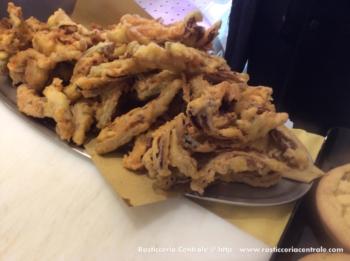 Radicchio tardivo fritto